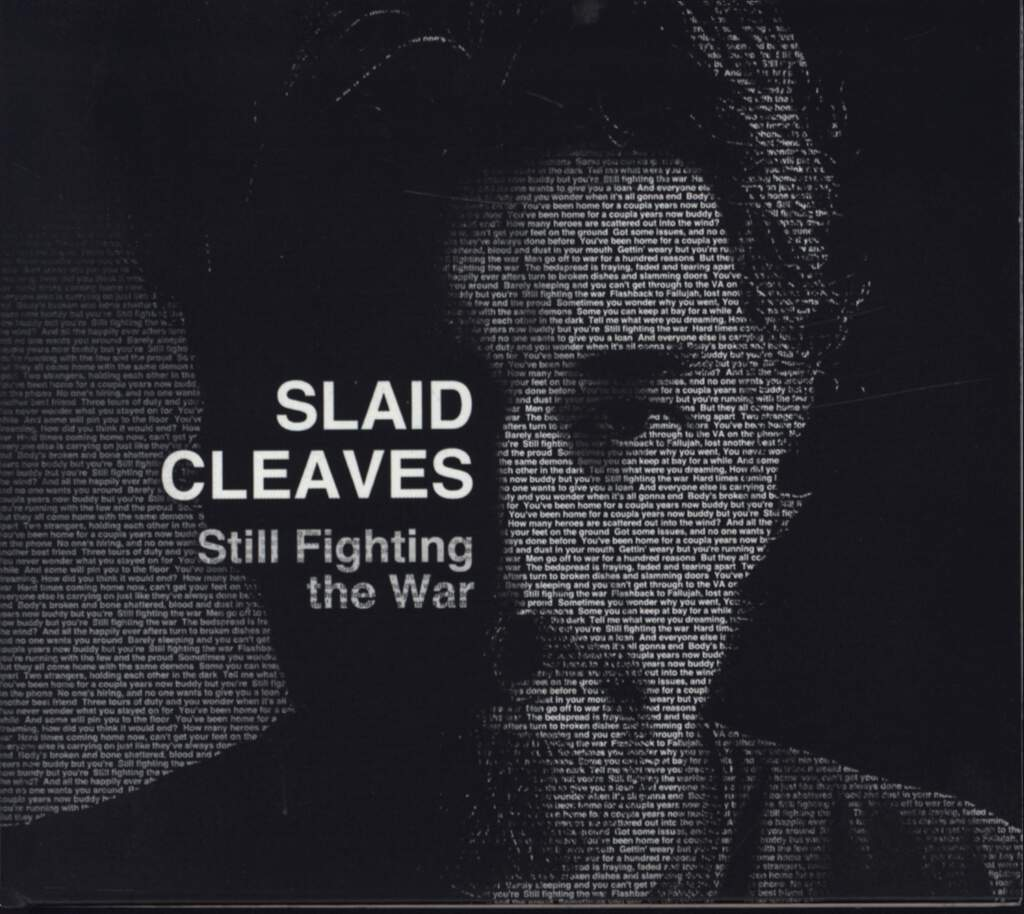 Slaid Cleaves: Still Fighting The War, CD