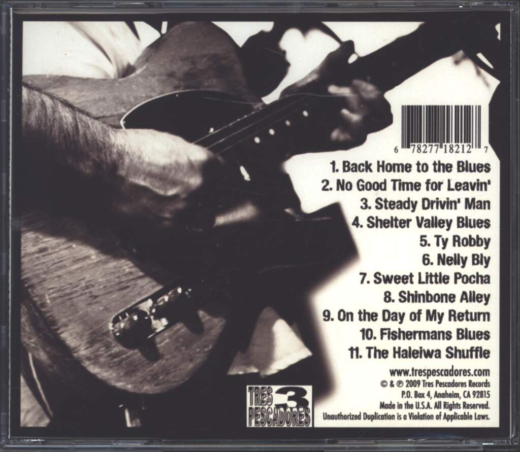 Rick Shea: Shelter Valley Blues, CD