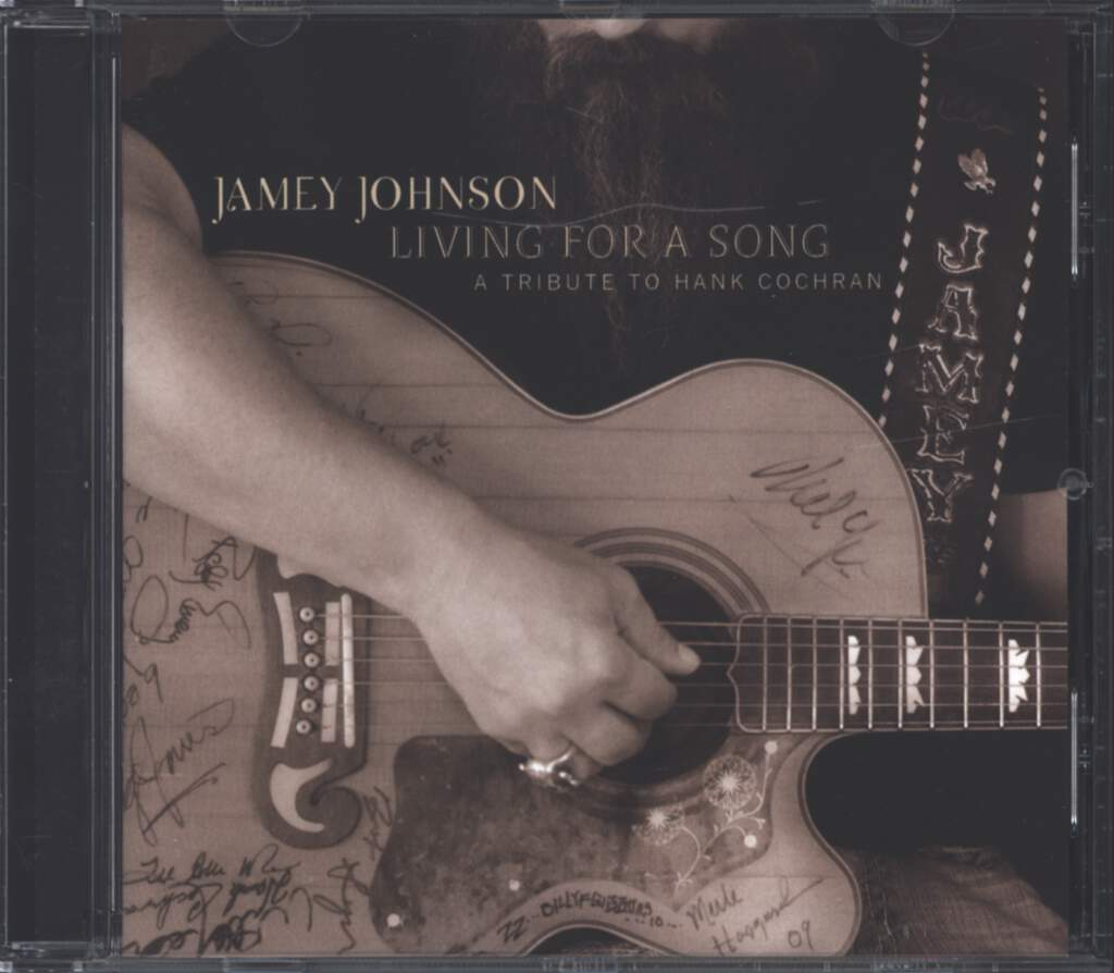 Jamey Johnson: Living For A Song - A Tribute To Hank Cochran, CD