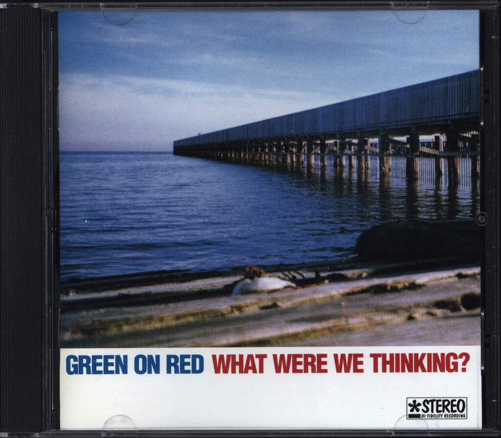 Green On Red: What Were We Thinking?, CD