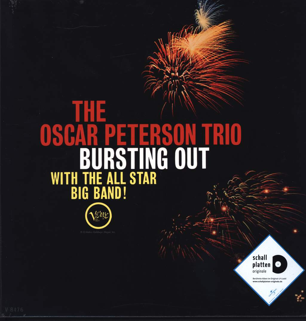 The Oscar Peterson Trio: Bursting Out With The All-Star Big Band, LP (Vinyl)