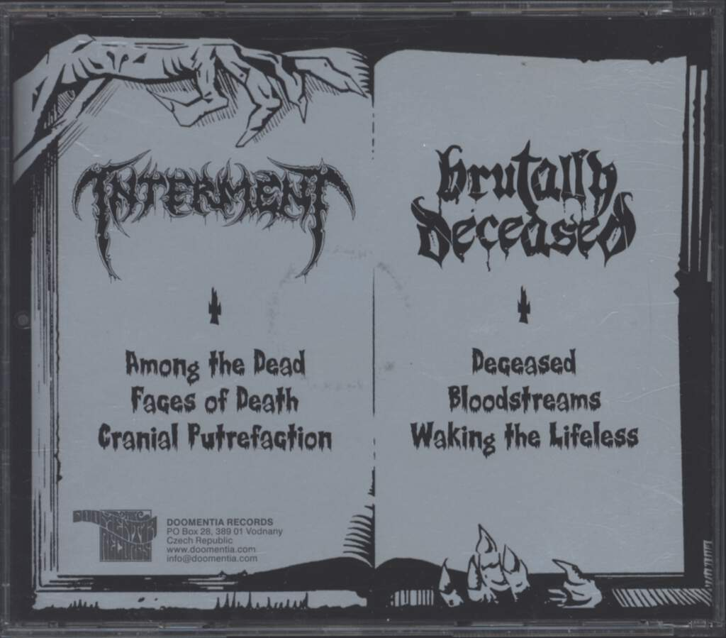 Interment: Glory Days Festering Years, CD