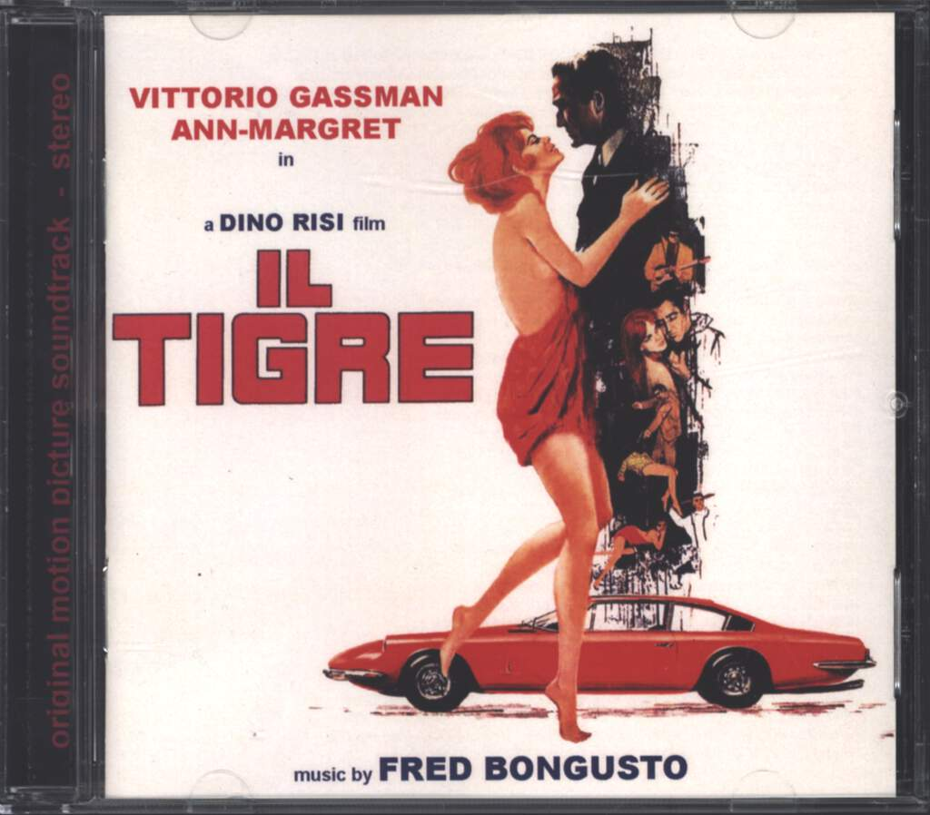 Fred Bongusto: Il Tigre, CD