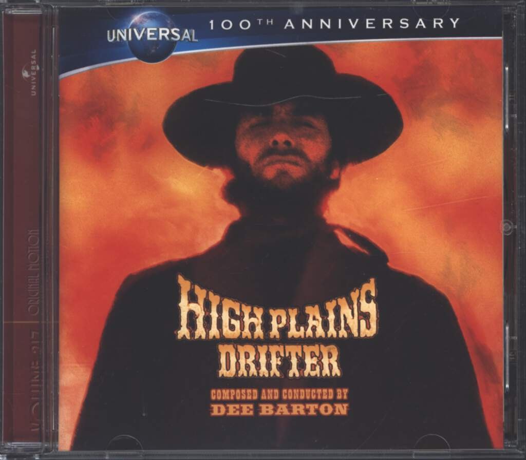 Dee Barton: High Plains Drifter, CD