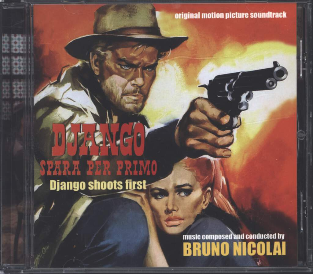 Bruno Nicolai: Django Spara Per Primo (Django Shoots First) (Original Motion Picture Soundtrack), CD