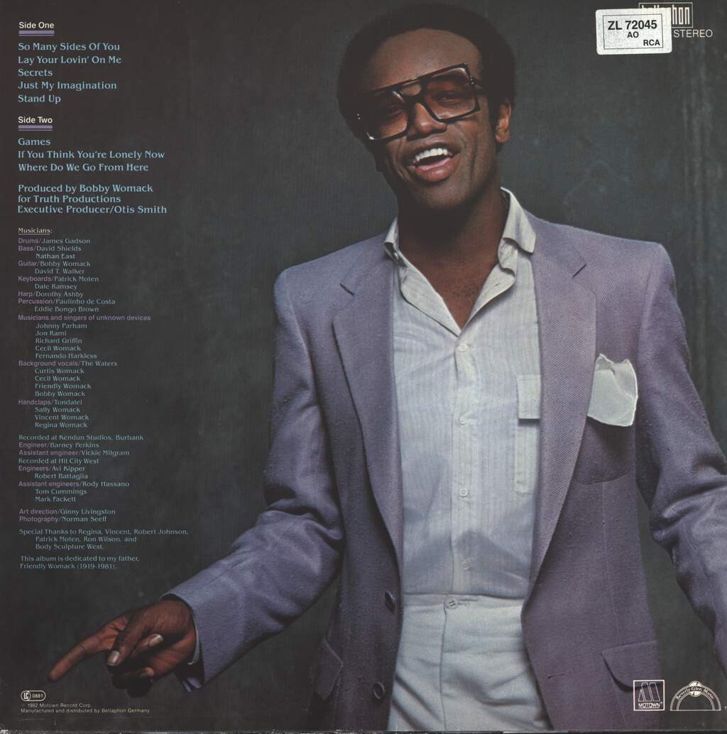 Bobby Womack: The Poet, LP (Vinyl)