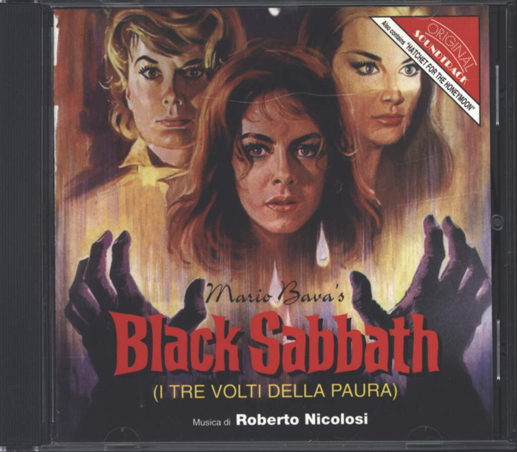 Roberto Nicolosi: Black Sabbath / Hatchet For The Honeymoon (Original Soundtracks), CD