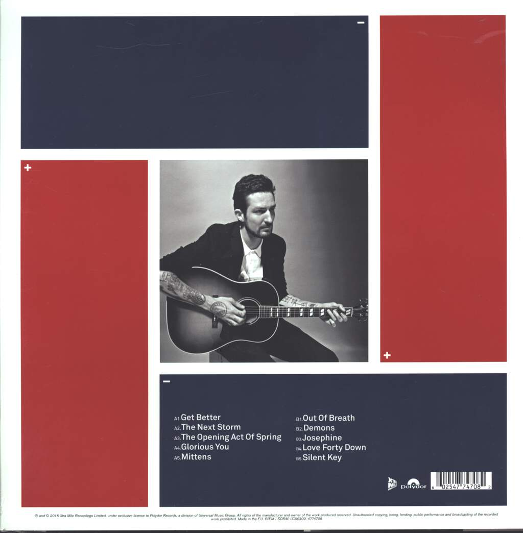 Frank Turner: Positive Songs For Negative People (Acoustic), LP (Vinyl)