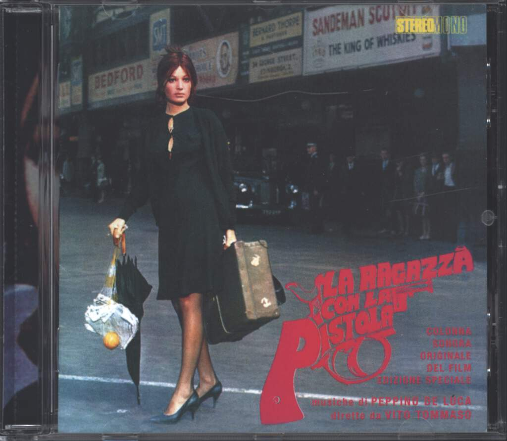 Peppino De Luca: La Ragazza Con La Pistola (Original Soundtrack), CD