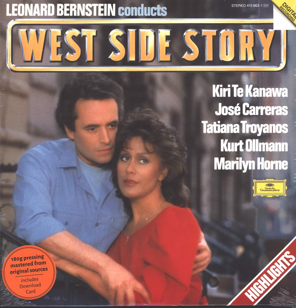 Leonard Bernstein: West Side Story (Highlights), LP (Vinyl)