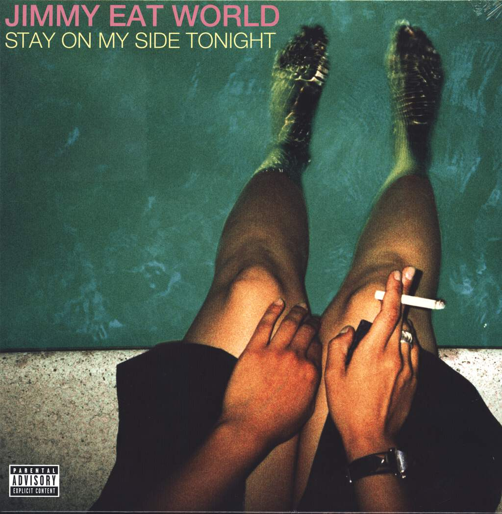 "Jimmy Eat World: Stay On My Side Tonight, 12"" Maxi Single (Vinyl)"