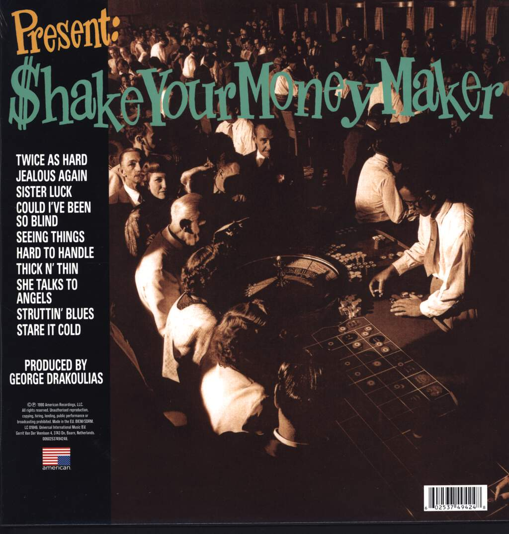 The Black Crowes: Shake Your Money Maker, LP (Vinyl)