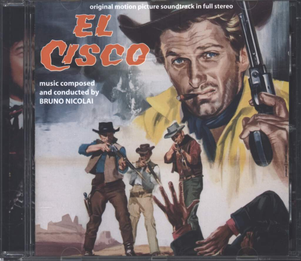 Bruno Nicolai: El Cisco (Original Soundtrack), CD