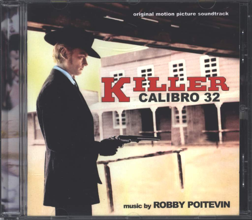Robby Poitevin: Killer Calibro 32 (Original Soundtrack), CD