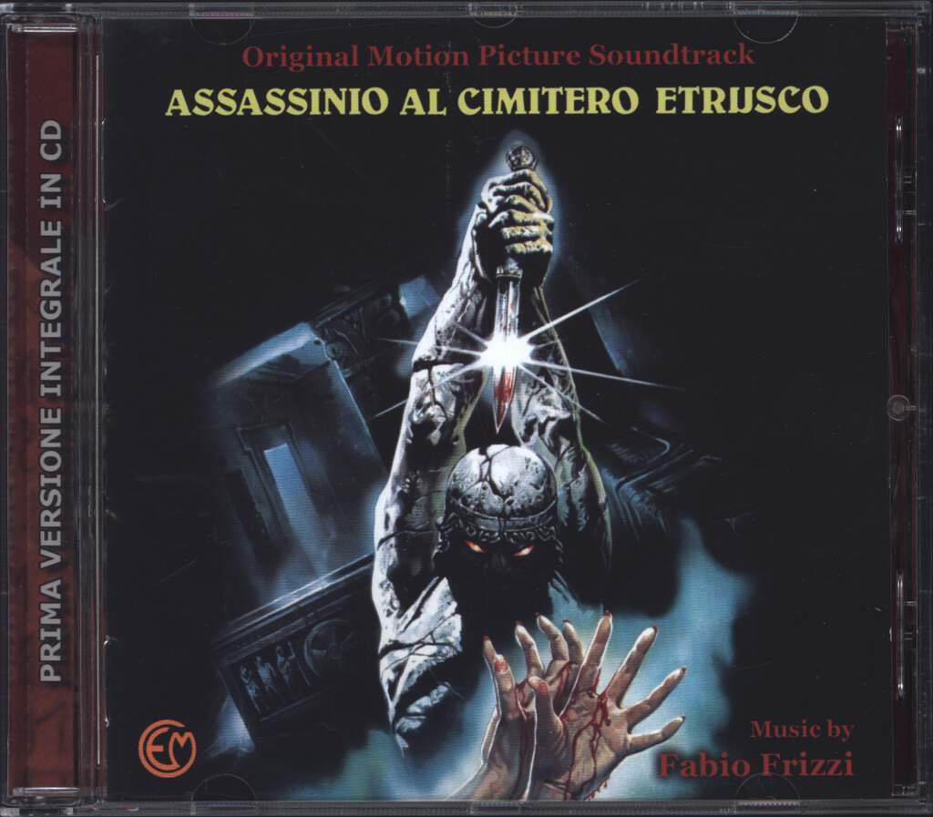 Fabio Frizzi: Assassinio Al Cimitero Etrusco, CD