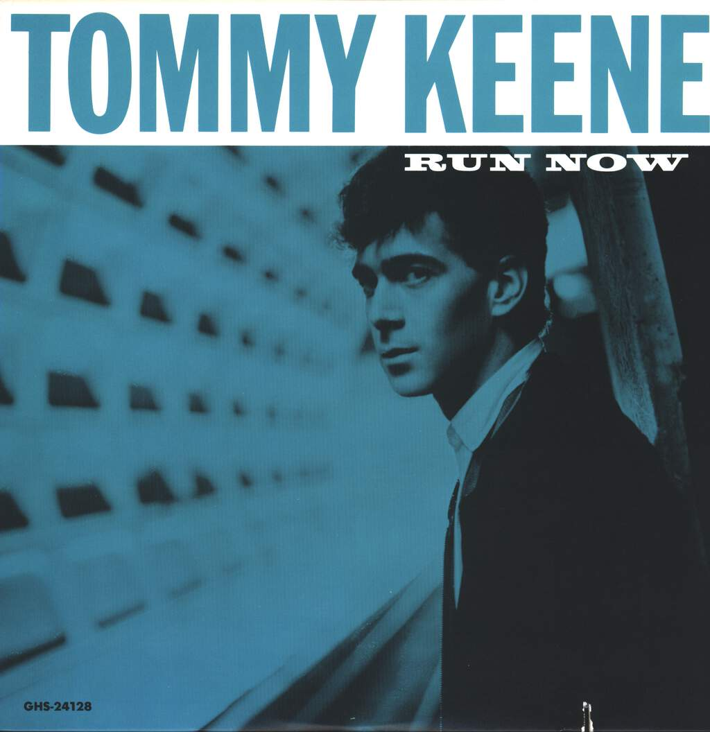 "Tommy Keene: Run Now, 12"" Maxi Single (Vinyl)"