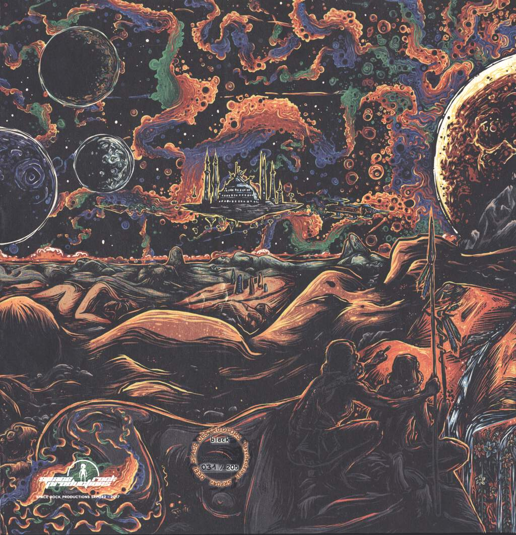 Deep Space Destructors: Psychedelogy, LP (Vinyl)