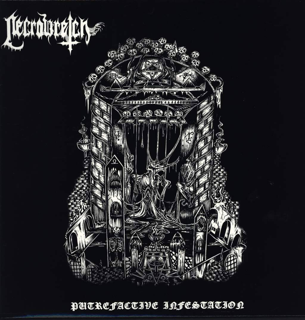 "Necrowretch: Putrefactive Infestation, 12"" Maxi Single (Vinyl)"