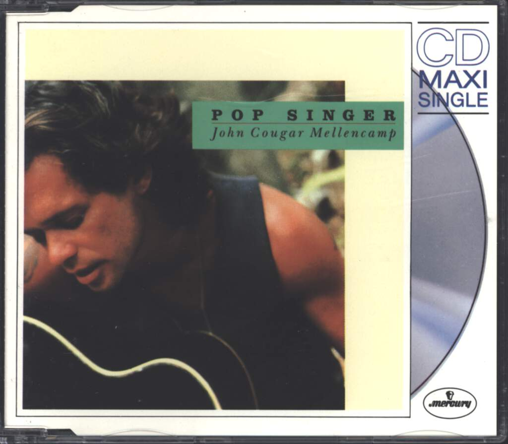 John Cougar Mellencamp: Pop Singer, Mini CD