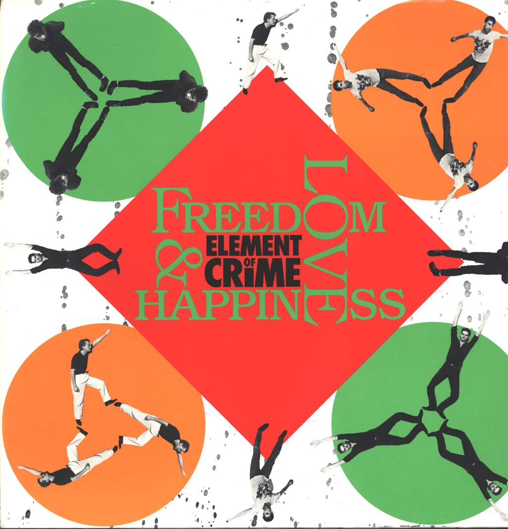 Element Of Crime: Freedom, Love And Happiness, LP (Vinyl)