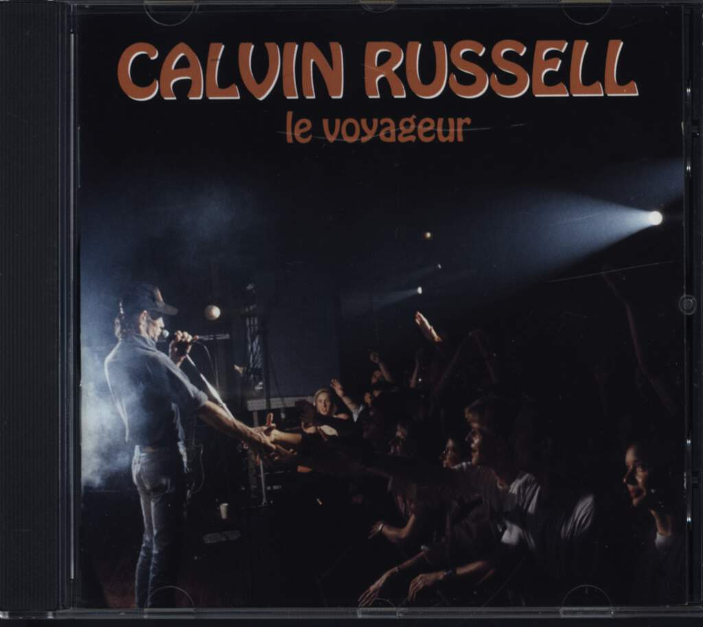 Calvin Russell: Le Voyageur - Live !, CD
