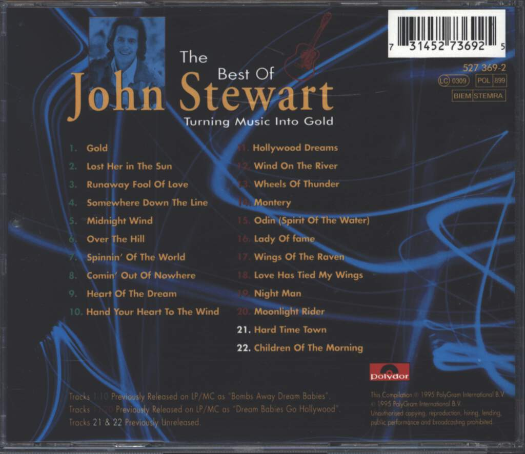 John Stewart: The Best Of (Turning Music Into Gold), CD
