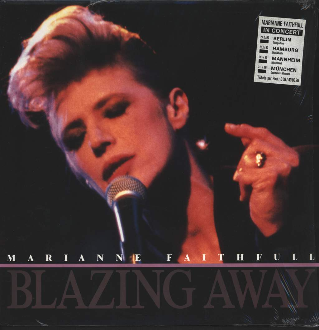 Marianne Faithfull: Blazing Away, LP (Vinyl)