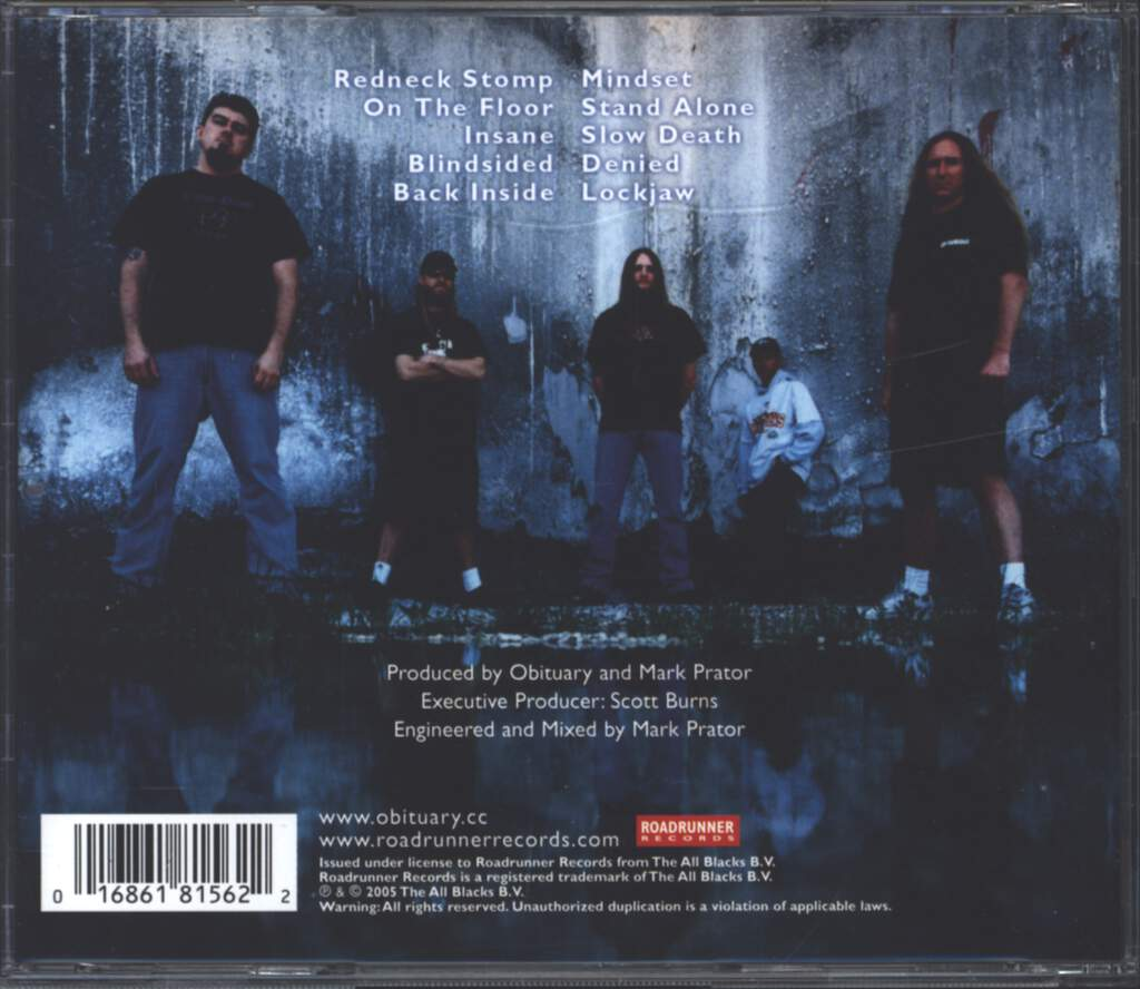 Obituary: Frozen In Time, CD