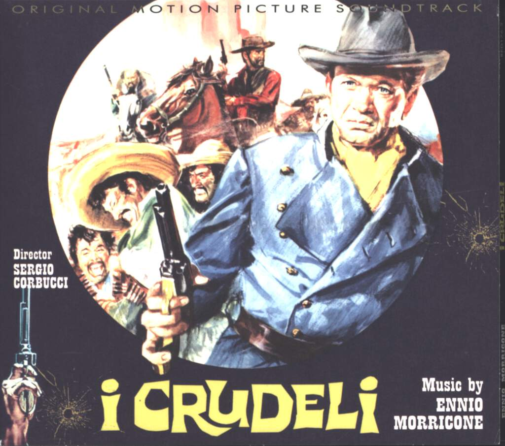 Ennio Morricone: I Crudeli (Original Soundtrack), CD
