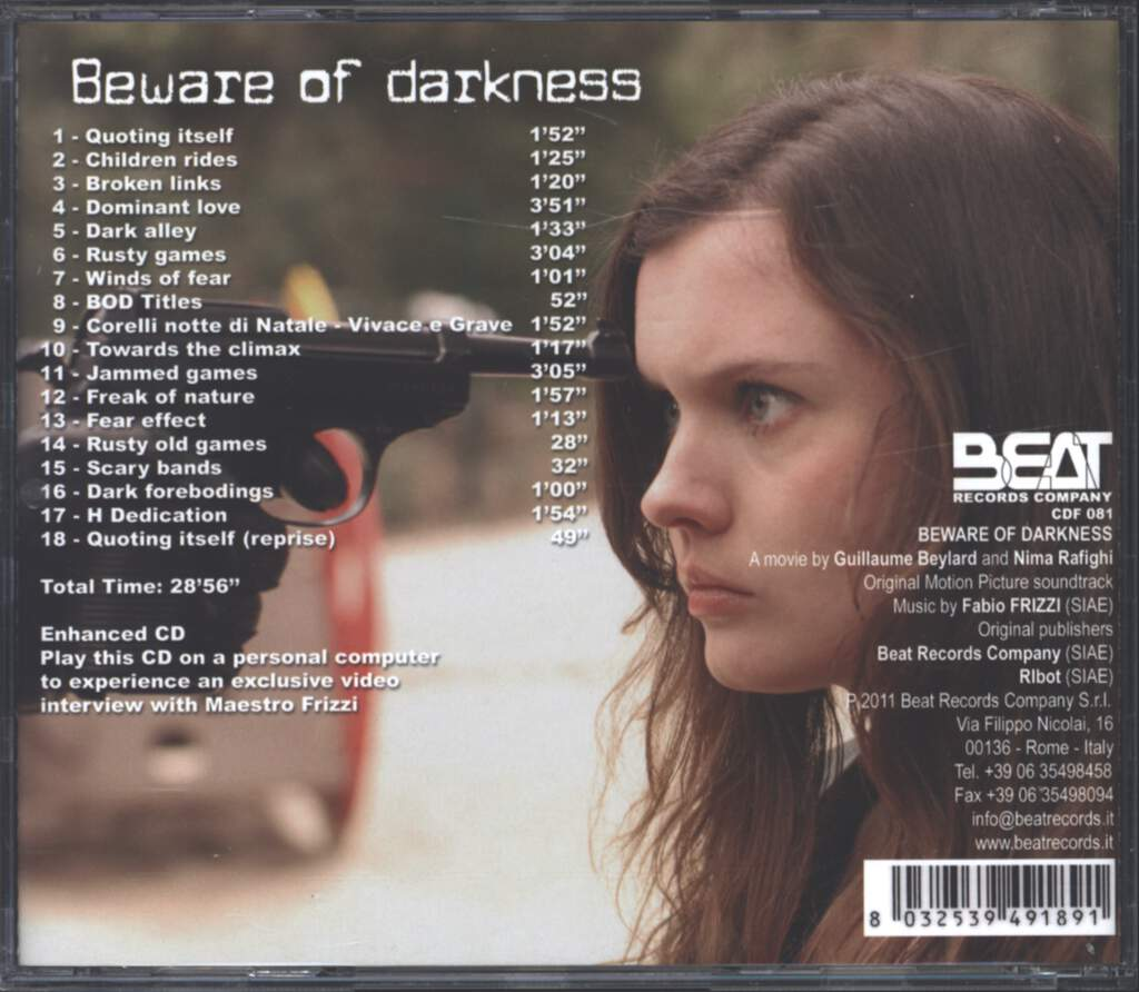 Fabio Frizzi: Beware Of Darkness, CD