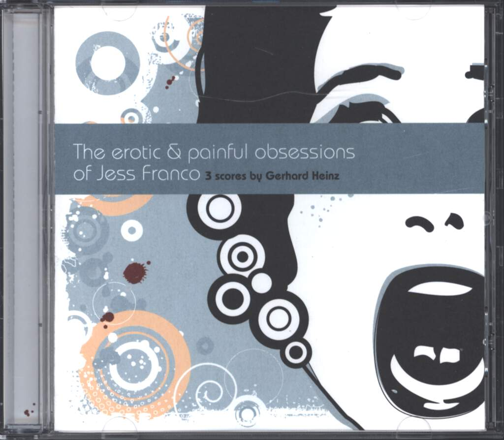 Gerhard Heinz: The Erotic & Painful Obsessions Of Jess Franco - 3 Scores By Gerhard Heinz, CD
