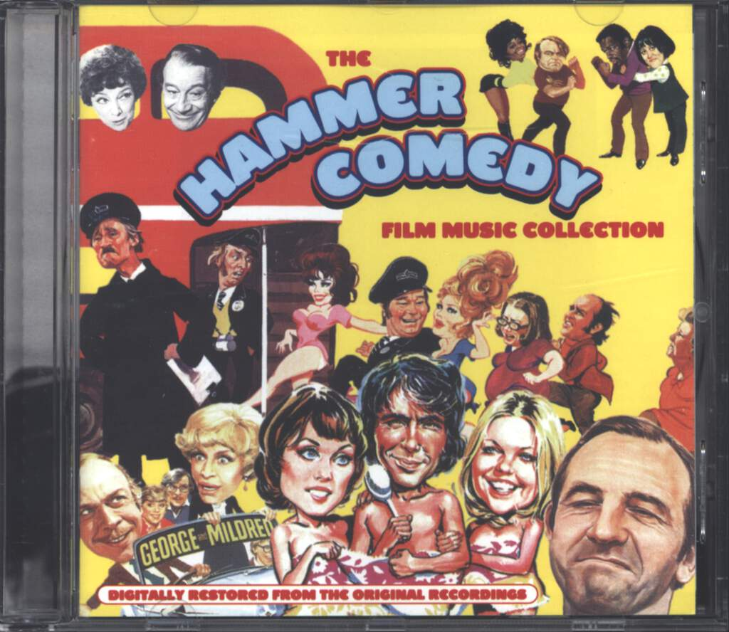 Various: The Hammer Comedy Film Music Collection, CD