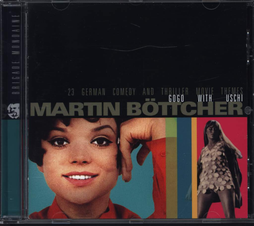 Martin Böttcher: Go Go With Uschi, CD