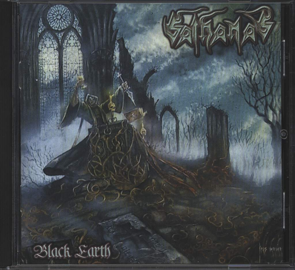 Sathanas: Black Earth, CD