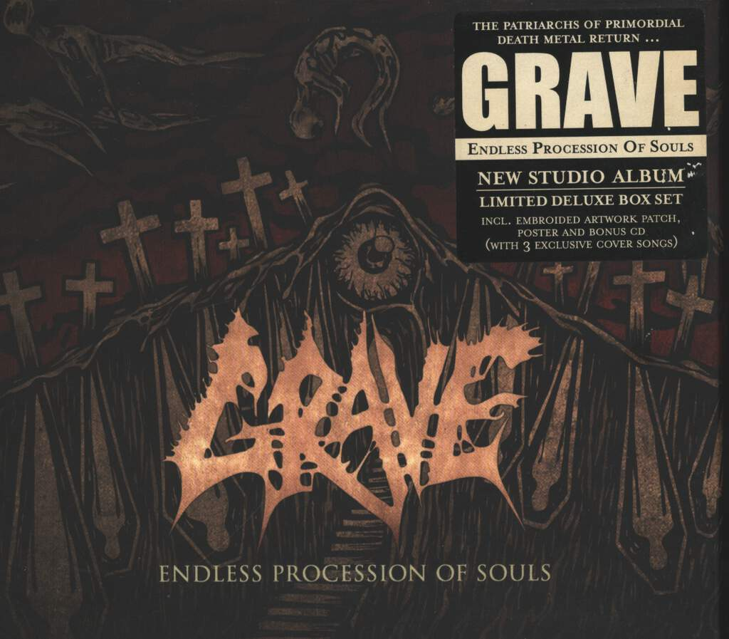Grave: Endless Procession Of Souls, CD