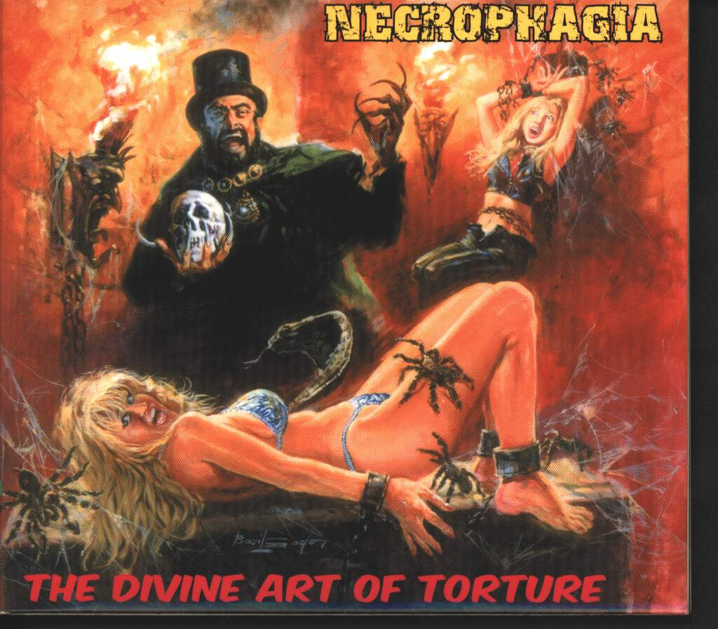 Necrophagia: The Divine Art Of Torture, CD