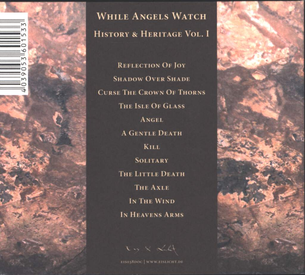 While Angels Watch: History & Heritage Vol. I, CD
