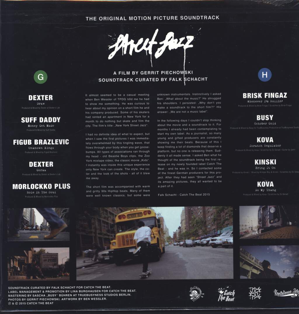 Various: Street Jazz O.S.T. - An Audiovisual Postcard From NYC, LP (Vinyl)