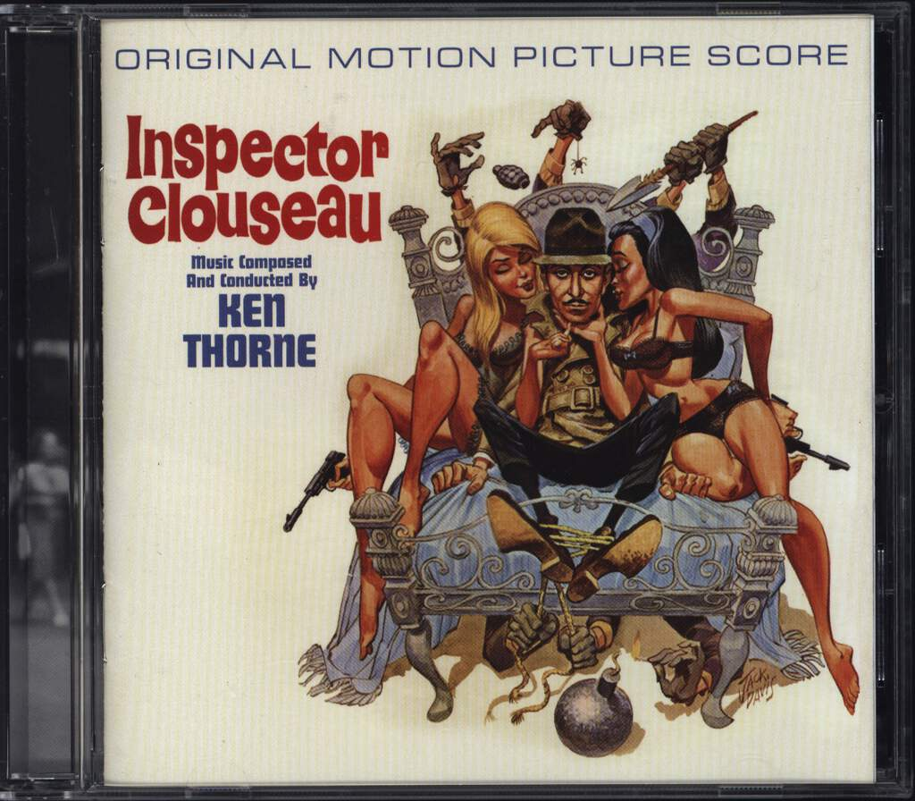 Ken Thorne: Inspector Clouseau, CD