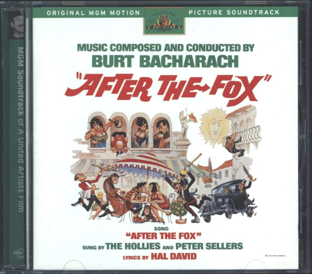 Burt Bacharach: After The Fox (Original Motion Picture Soundtrack), CD