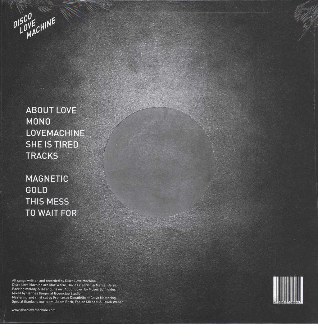 Disco Love Machine: Disco Love Machine, LP (Vinyl)