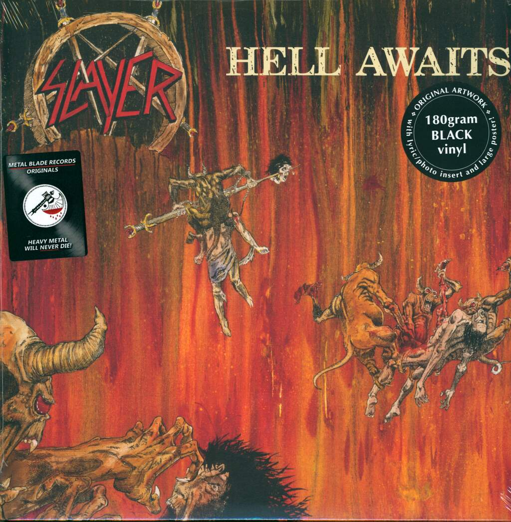 Slayer: Hell Awaits, LP (Vinyl)