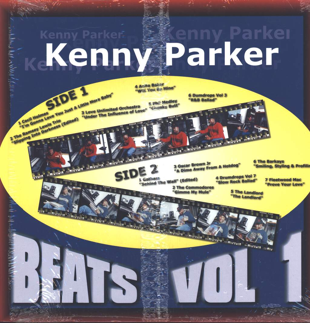Kenny Parker: Beats Vol 1, LP (Vinyl)