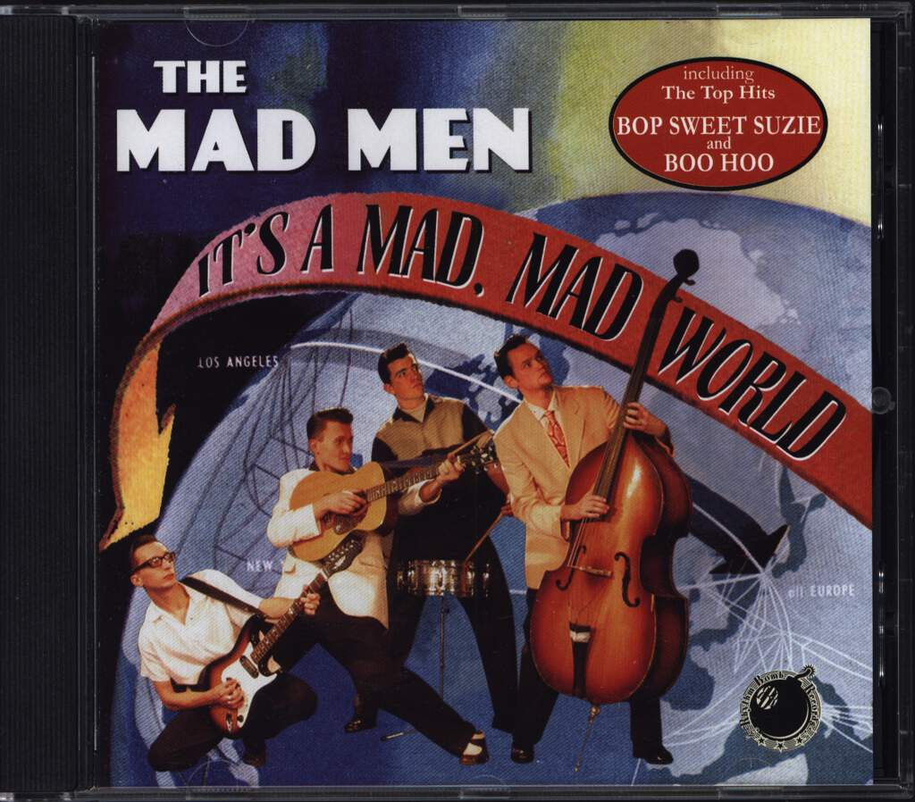 The Mad Men: It's A Mad, Mad World, CD