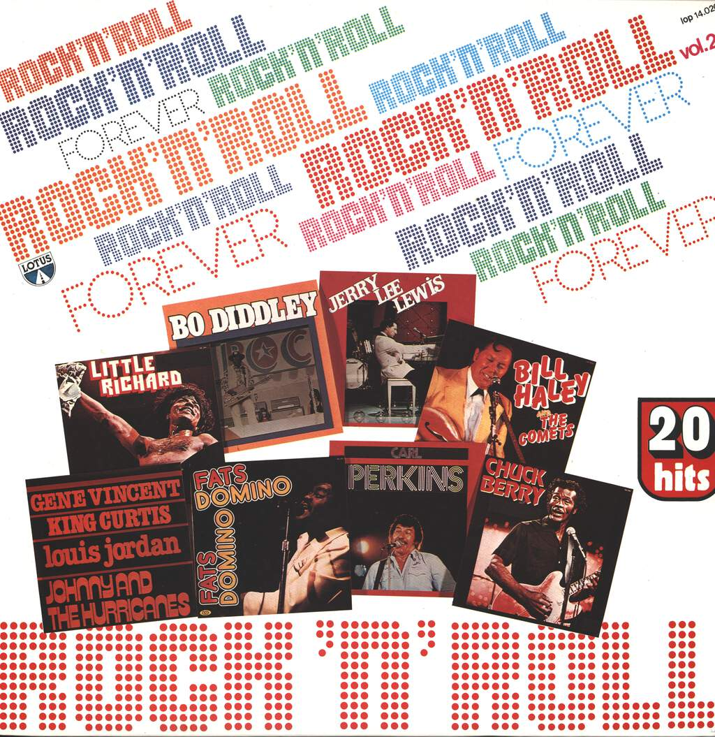 Various: Rock'N'Roll Forever - 20 Greatest Hits Vol.2, LP (Vinyl)