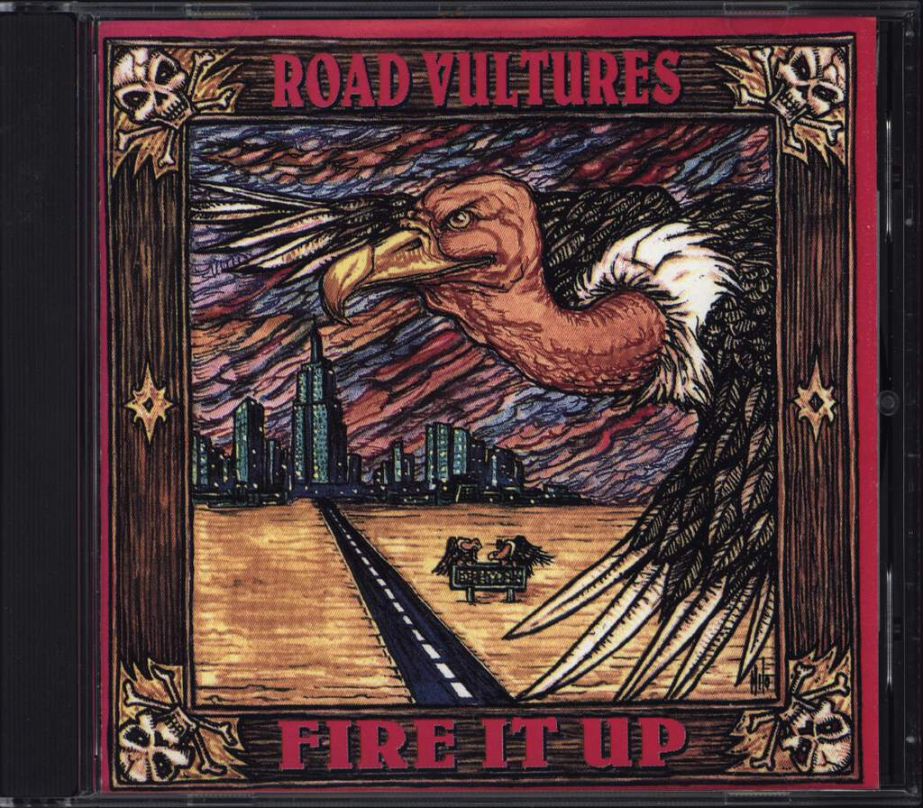 Road Vultures: Fire It Up, CD