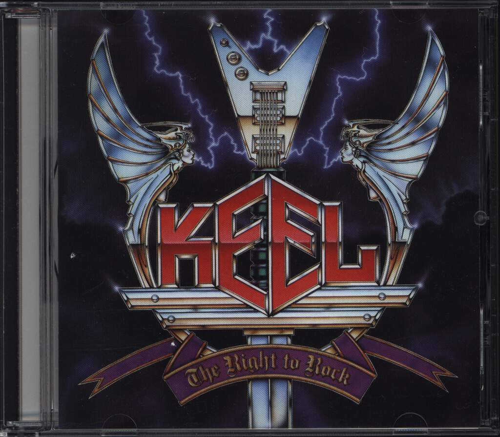 Keel: The Right To Rock, CD