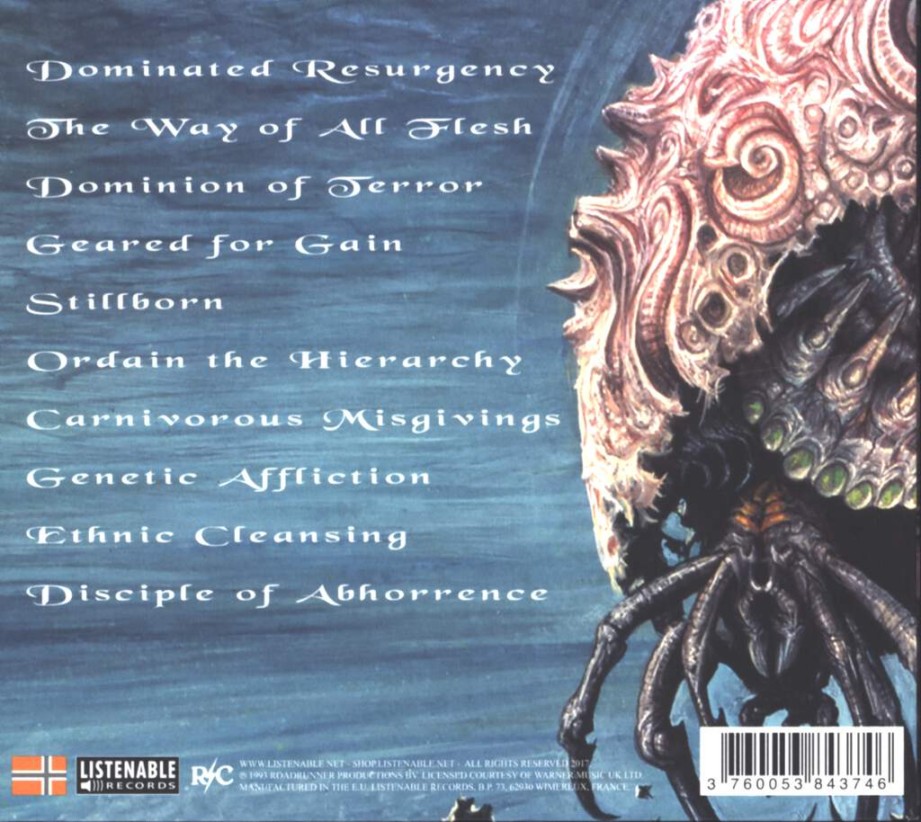 Malevolent Creation: Stillborn, CD
