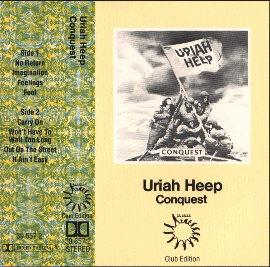 Uriah Heep: Conquest, Compact Cassette