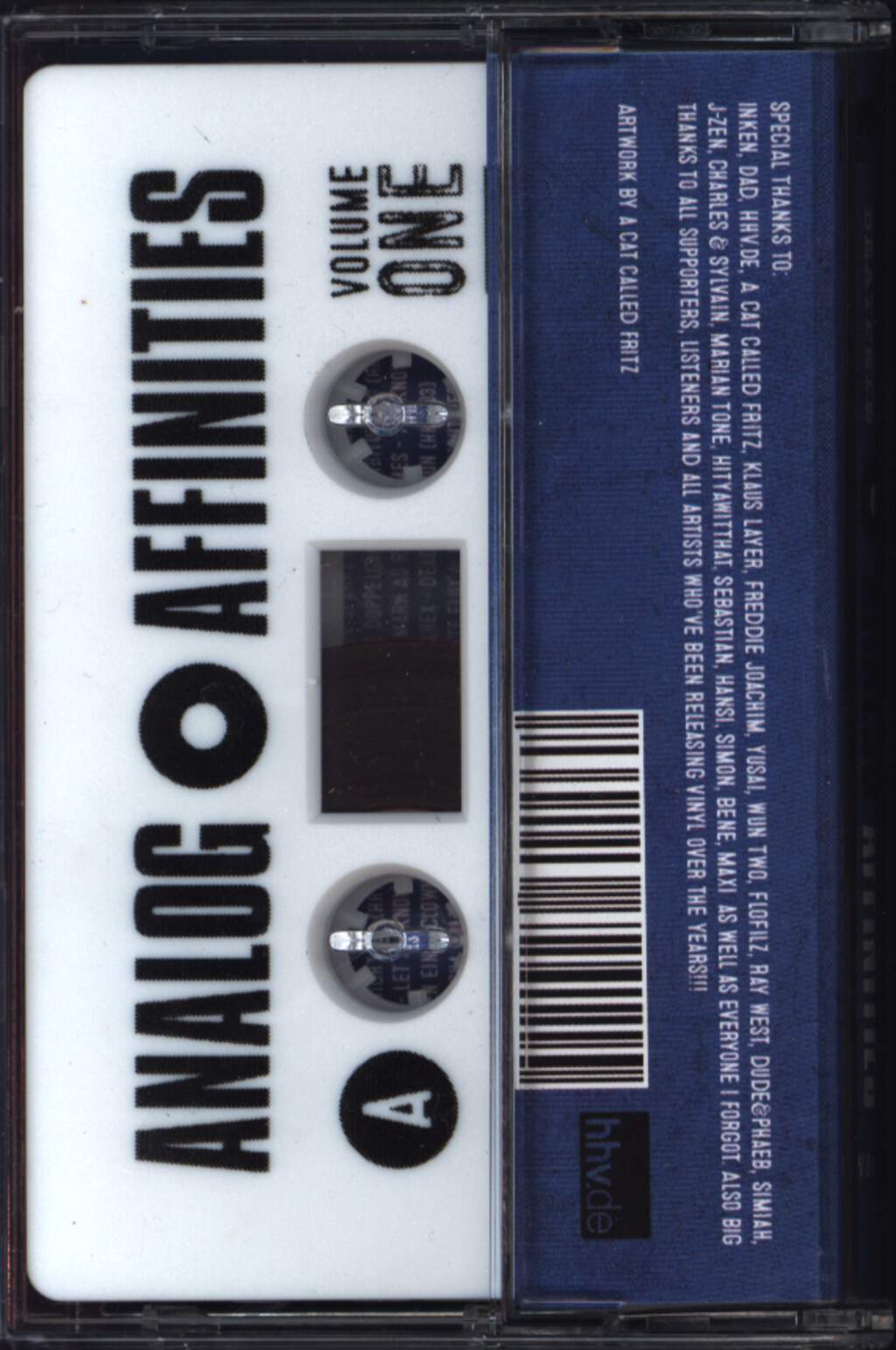 BeatPete: Analog Affinities Volume 1, Compact Cassette